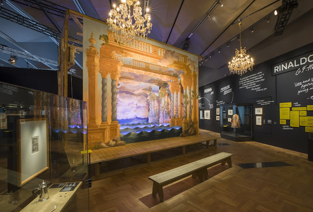 Opera Passion, Power and Politics installation - baroque theatre for Handel's Rinaldo (c) Victoria and Albert Museum, London