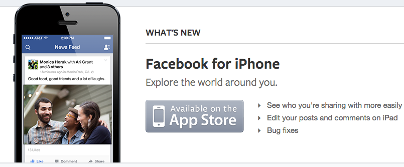 facebook app for iphone delete app on iphone appsng 14061