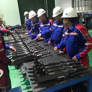 Lini Produksi GPMG Kaliber 7.62 mm PT PINDAD