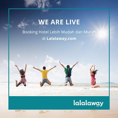 Lalalaway hadir sebagai situs booking hotel lebih mudah dan murah