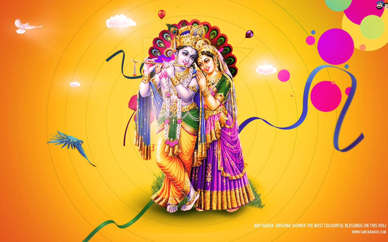 Happy holi radha krishna images - Latest Holi Sms Holi Shayari And Facebook Messages