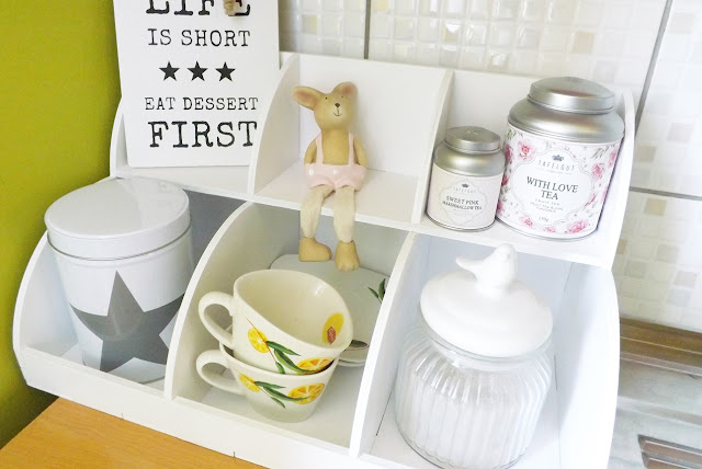 herbata Tafelgut na białej półce