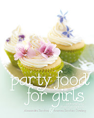Click on the cover to look inside our latest book: Party Food for Girls