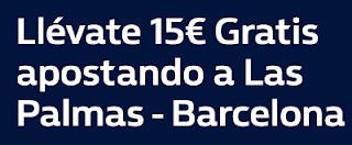 william hill promocion Las Palmas vs Barcelona 1 marzo