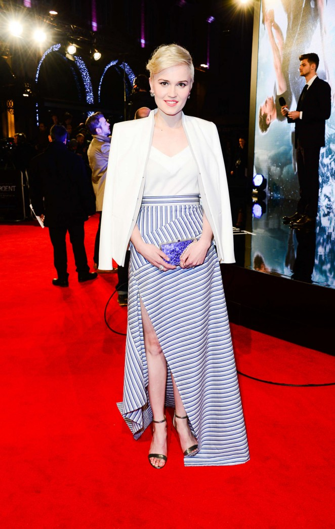 Veronica Roth dazzles at the 'Insurgent' premiere in London