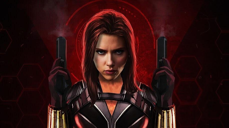 Black Widow, Guns, 2020, Movie, Scarlett Johansson, 4K, #5.1468