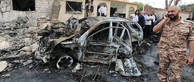 Attentat en Libye revendiqué par Daech a fait 12 morts et 35 blessés.