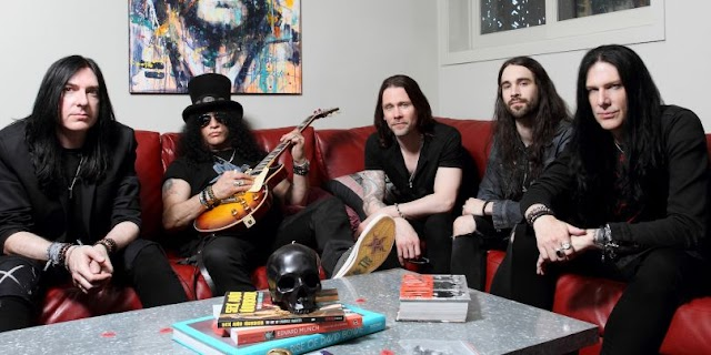 Turnê solo de Slash vem ao Brasil em 2019