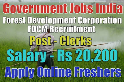 FDCM Recruitment 2018