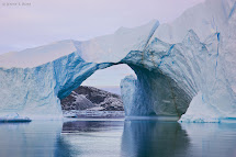Travel Trip Journey Ice Canyon Greenland