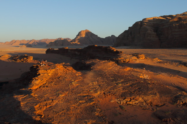 A Wadi Rum sunset is a surreal experience