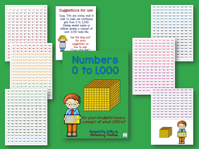 Number Grid to One Thousand