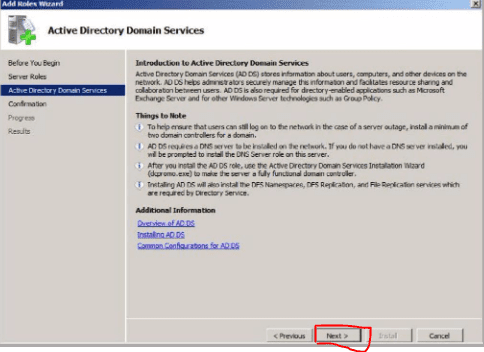 Cara Instal Active Directory di Windows Server 2008