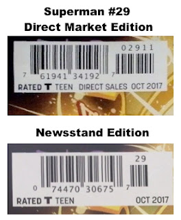 Find newsstand variants on eBay