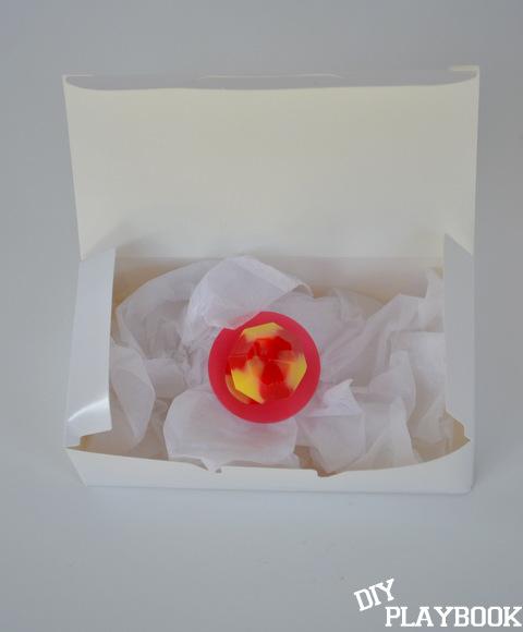 Ring pop in  box