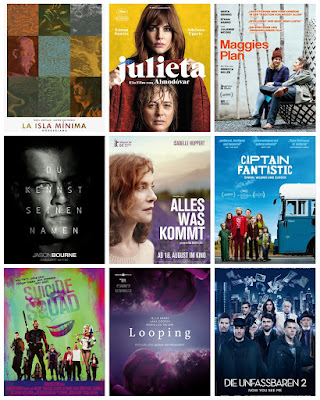 der cineast Filmblog Kinovorschau August 2016