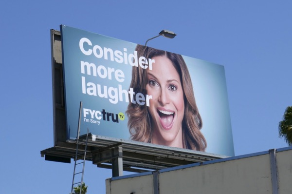 Im Sorry Consider more laughter FYC TruTV Emmy billboard