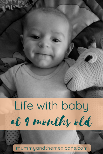 Life With Baby At 4 Months Old