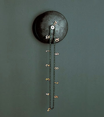 Catena Wall Clock by Andreas Dober