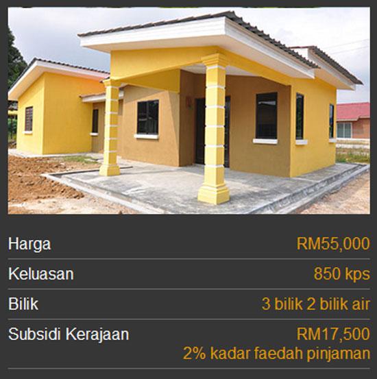 Kategori Rumah Mesra Rakyat 1Malaysia SPNB - Jenis 2