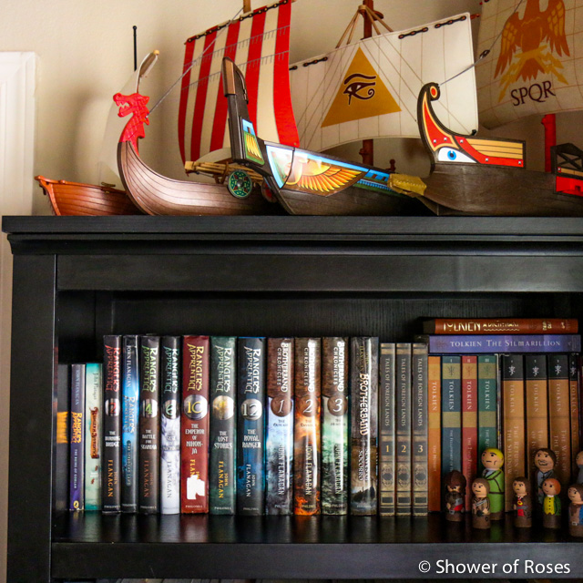 Ive Been Meaning To Share This Post Ever Since Posting Books For Girls A Closer Look At The Bookshelf I Actually Took These Photos Back In November Of