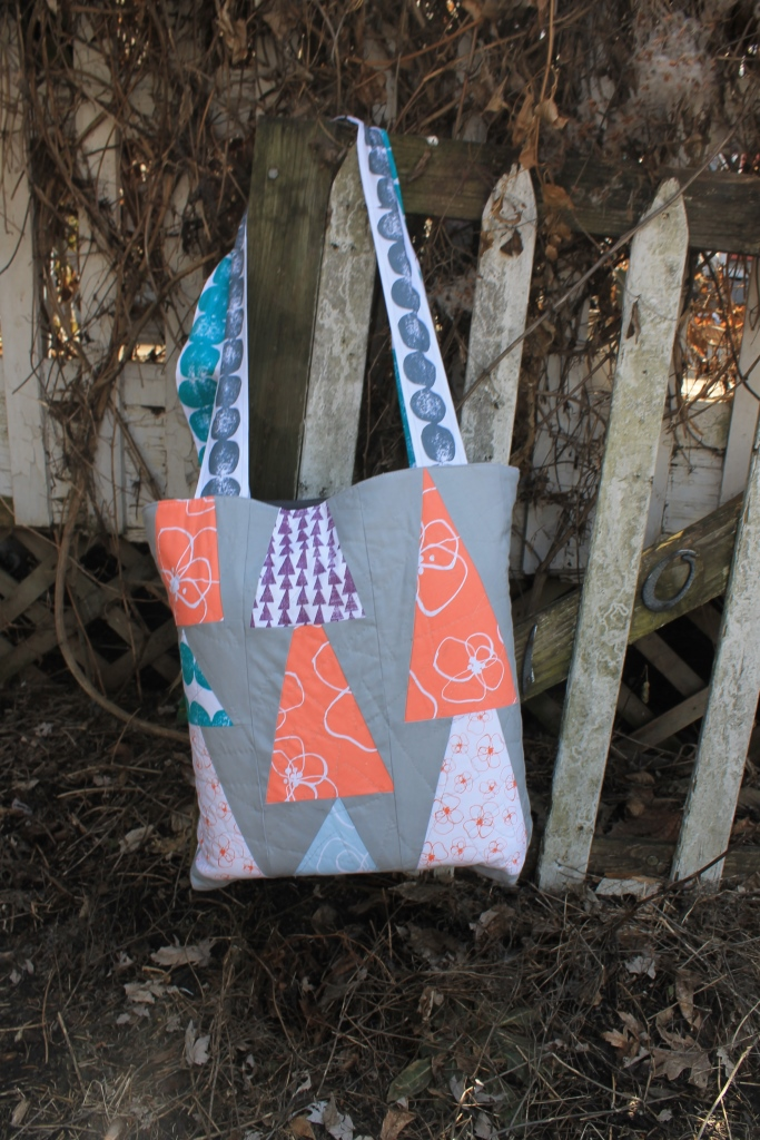 Basic quilted tote bag DIY Free Tutorial