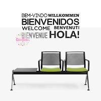 vinilo decorativo oficina sala consultorio comedor bienvenidos idiomas