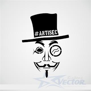 Antisec Logo vector cdr Download