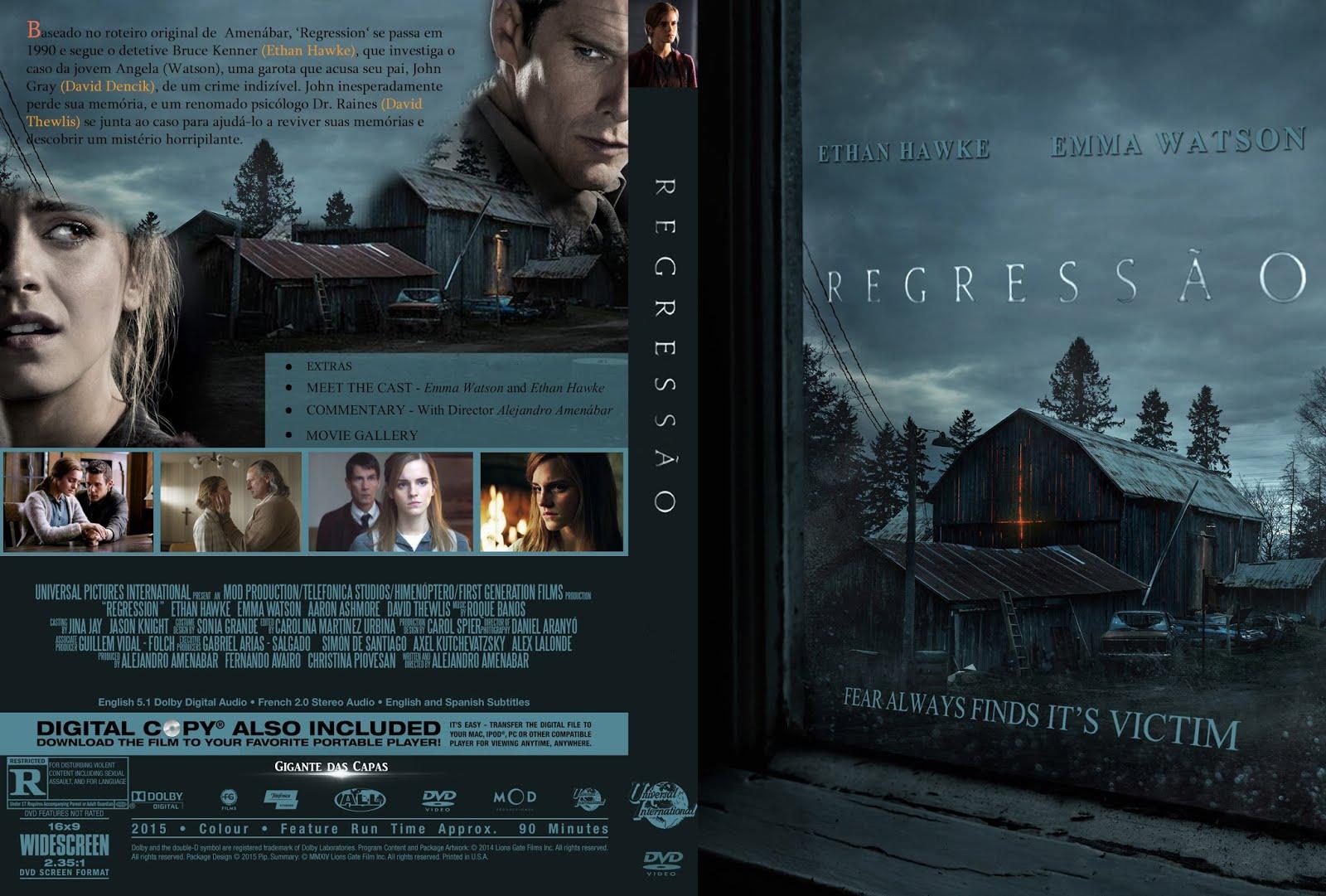 Capa DVD Regressão
