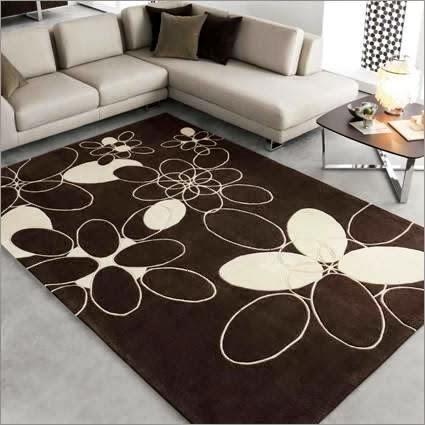 Aneka Bentuk Karpet Di Ruangan Tamu