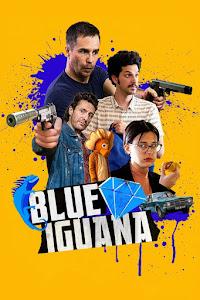 Blue Iguana Poster
