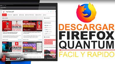descargar firefox quantum ultima version español