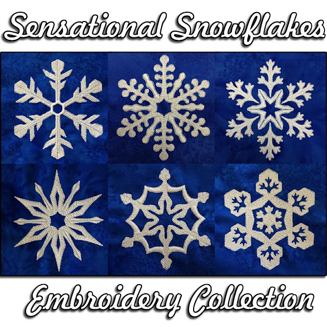 The Free Motion Quilting Project Sensational Snowflake