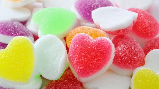 Gambar Kue Manisan Jelly agar-agar kering