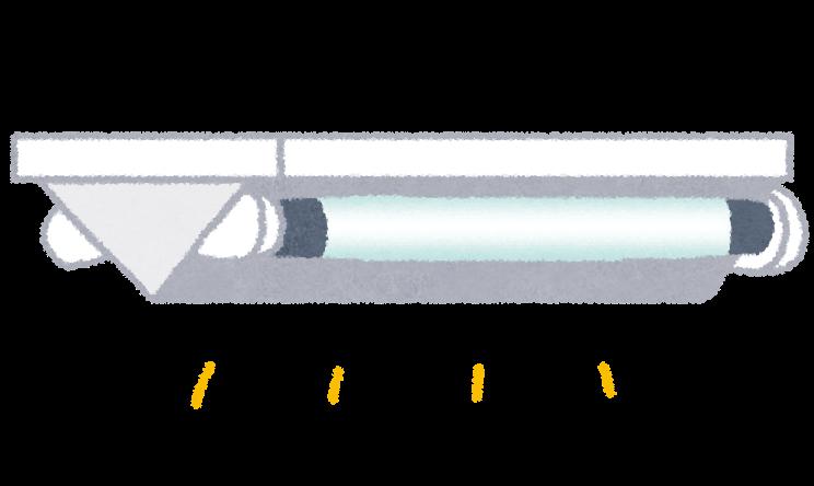蛍光灯の画像