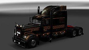 Tony Gegor Patina Stripe skin for Peterbilt 389