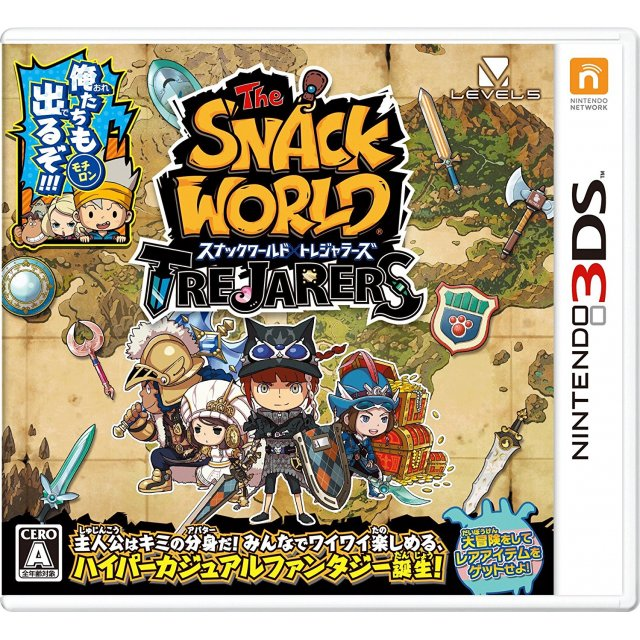 [3DS]The Snack World Trejarers[スナックワールド トレジャラーズ  ] (JPN) ROM Download