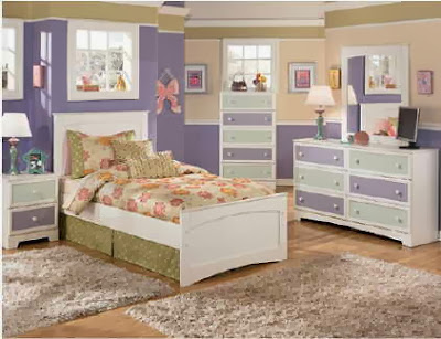 desain dekorasi kamar anak perempuan contoh gambar