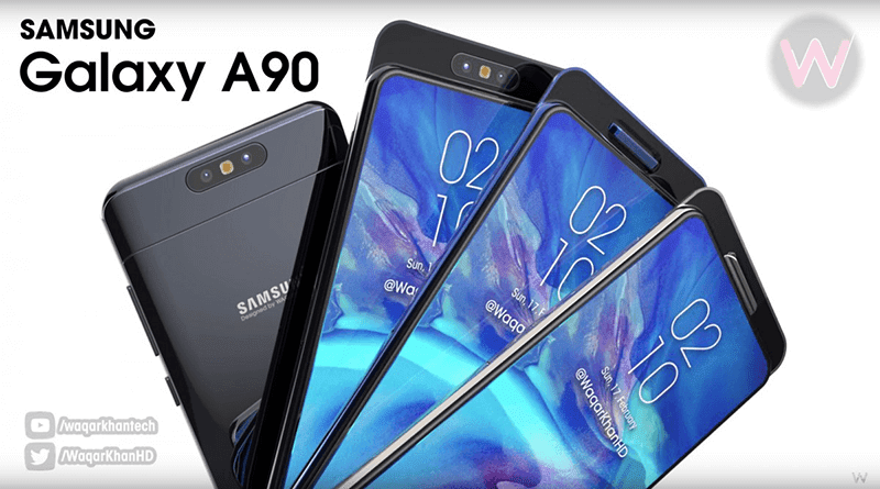 Samsung Galaxy A90 might be called A80, will come with rotating cameras