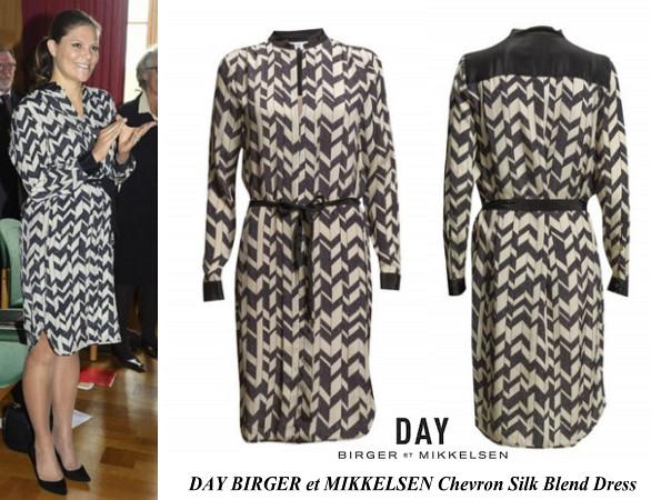 Princess Victoris's DAY BIRGER et MIKKELSEN Dress