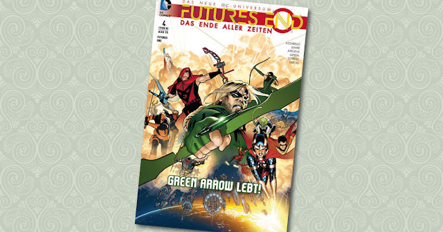 Futures End 4 Panini Cover