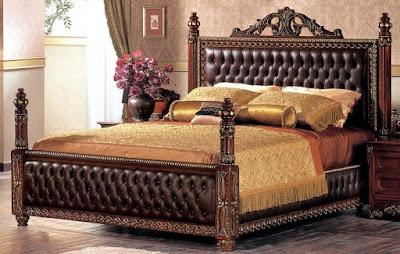 tempat tidur jati untuk rumah baru