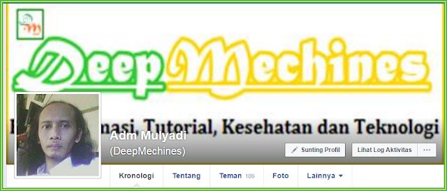 FB Profile Admin DeepMechines Blog