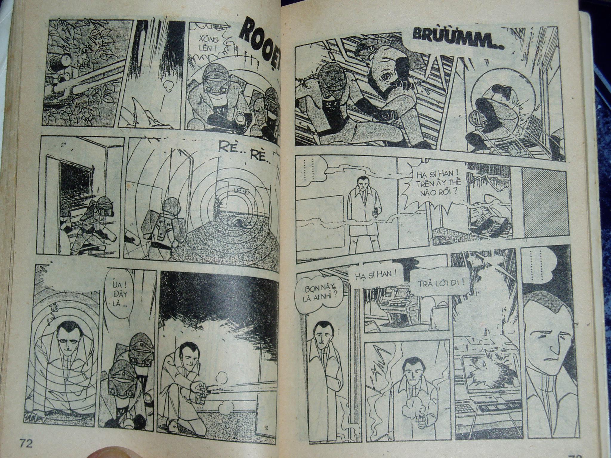 Siêu nhân Locke vol 16 trang 35