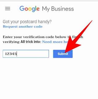 Google my business pin verify kaise kare 2