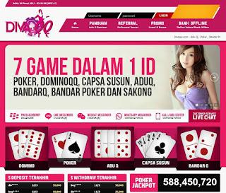 DivaQQ - Agen Judi Online Domino QQ Terpercaya, Poker Online Terpercaya