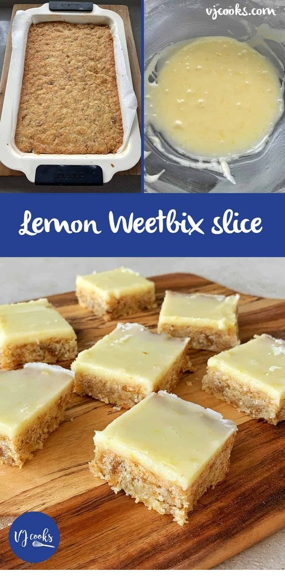 Lemon Weetbix Slice