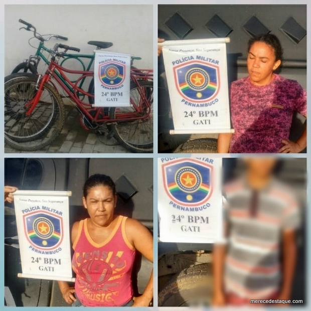 Três pessoas são flagradas pela Polícia praticando furtos no depósito da Delegacia de Santa Cruz