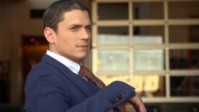 Wentworth Miller with Love: The Photo Shoot With Wentworth
