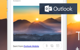 Como Adjuntar fotos desde tu camara [Outlook Correo móvil]